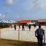 Beach volley bij Krusada