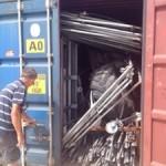 Container lossen